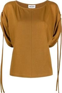 Bluzka Kenzo z okrągłym dekoltem