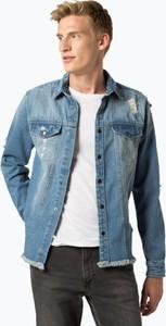 Kurtka Redefined Rebel z jeansu w street stylu