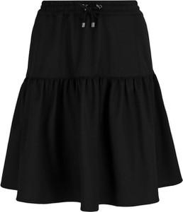 Czarna spódnica Emporio Armani z wełny