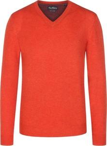 Pomarańczowy sweter Tom Rusborg
