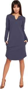 Sukienka BeWear z długim rękawem