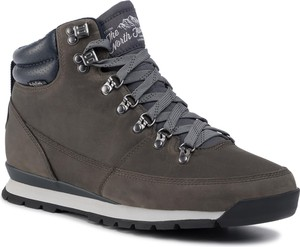 Brązowe buty zimowe The North Face