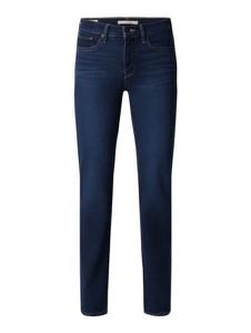 Granatowe jeansy Levi's® 300 z bawełny w stylu casual