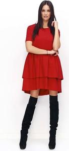 7c24a5c584 Czerwone sukienki mini Makadamia