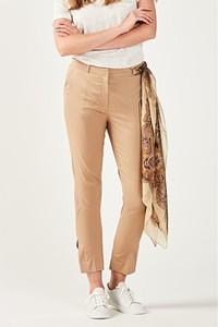 Brązowe spodnie PATRIZIA ARYTON w stylu klasycznym