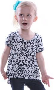 Granatowa bluzka dziecięca Fokus