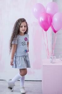Sukienka dziewczęca All For Kids z bawełny