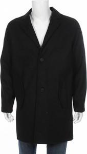 Czarny płaszcz męski YOUR TURN