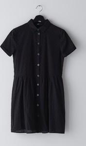 Sukienka Cropp mini z kołnierzykiem
