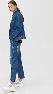 Niebieska kurtka Cropp krótka