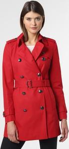 Czerwony płaszcz Tommy Hilfiger w stylu casual