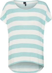 Bluzka Vero Moda z dżerseju z krótkim rękawem