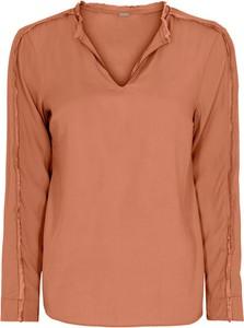 Pomarańczowa bluzka GUSTAV