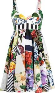 Sukienka Dolce & Gabbana na ramiączkach