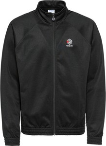Czarna kurtka Reebok Classic w stylu casual