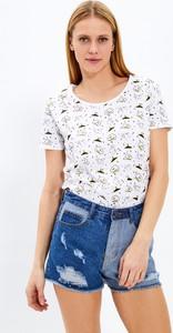 T-shirt Gate z okrągłym dekoltem z krótkim rękawem