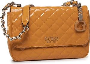Brązowa torebka Guess na ramię