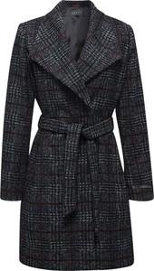 Czarny płaszcz Esprit w stylu casual z wełny