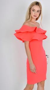 Różowa sukienka Zoio mini