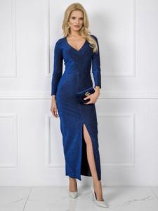 Niebieska sukienka Sheandher.pl maxi
