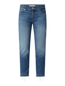Niebieskie jeansy 7 for all mankind z bawełny