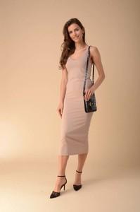 Sukienka Nommo ołówkowa na ramiączkach