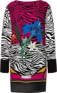 Sukienka Cavalli Class z długim rękawem w stylu casual mini