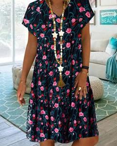 Sukienka Kendallme mini z dekoltem w kształcie litery v oversize