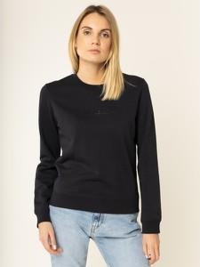 Czarna bluza Calvin Klein krótka