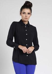 Czarna koszula Nommo z długim rękawem