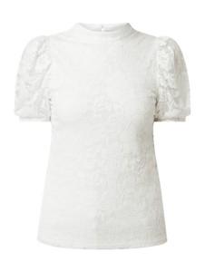 Bluzka Vila w stylu casual z krótkim rękawem