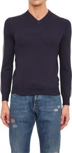 Niebieski sweter Antony Morato w stylu casual z wełny