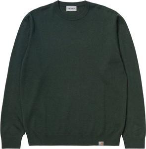 Sweter Carhartt WIP z okrągłym dekoltem z wełny
