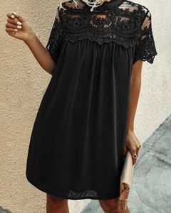 Czarna sukienka Kendallme oversize