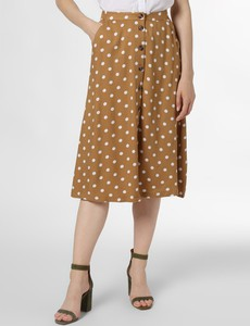 Brązowa spódnica Minimum w stylu retro