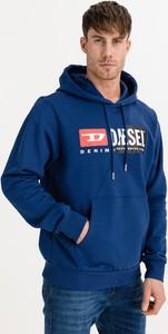Niebieska bluza Diesel z bawełny