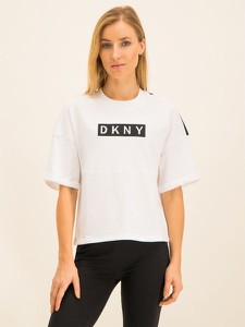 Bluza Dkny Sport krótka w stylu casual