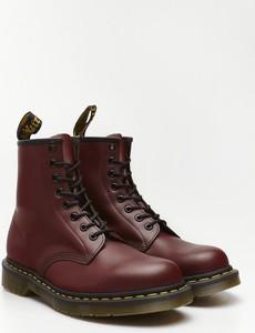 Czerwone buty zimowe Dr. Martens