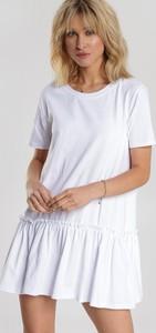 Sukienka Renee z krótkim rękawem mini w stylu casual