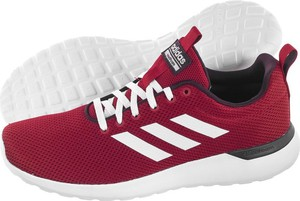 Czerwone buty sportowe Adidas w sportowym stylu
