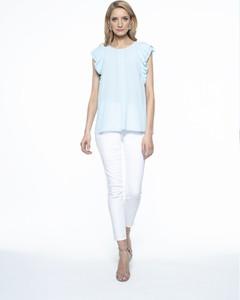 Niebieska bluzka L'AF z tkaniny