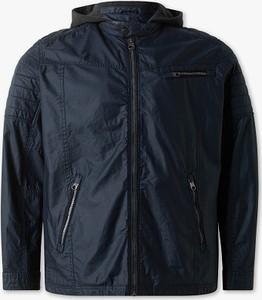 Niebieska kurtka ANGELO LITRICO w stylu casual