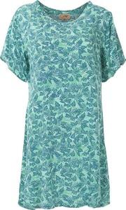 Zielona sukienka Coline z krótkim rękawem w stylu casual