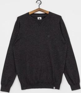 Czarna bluza Element z żakardu