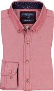 Koszula Colours & Sons z kołnierzykiem button down z długim rękawem