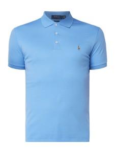 Niebieska koszulka polo POLO RALPH LAUREN z bawełny