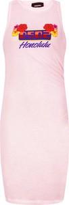 Sukienka Dsquared2 prosta bez rękawów mini