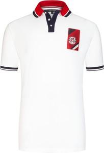 Koszulka polo Tommy Hilfiger z bawełny z krótkim rękawem