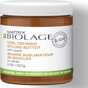Biolage RAW Definiujące loki masło z ekstraktem z kakao 250ml