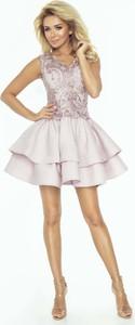 Sukienka Imesia rozkloszowana bez rękawów